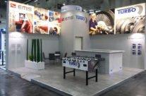 Messestand PowerGen Wien / Emis Group